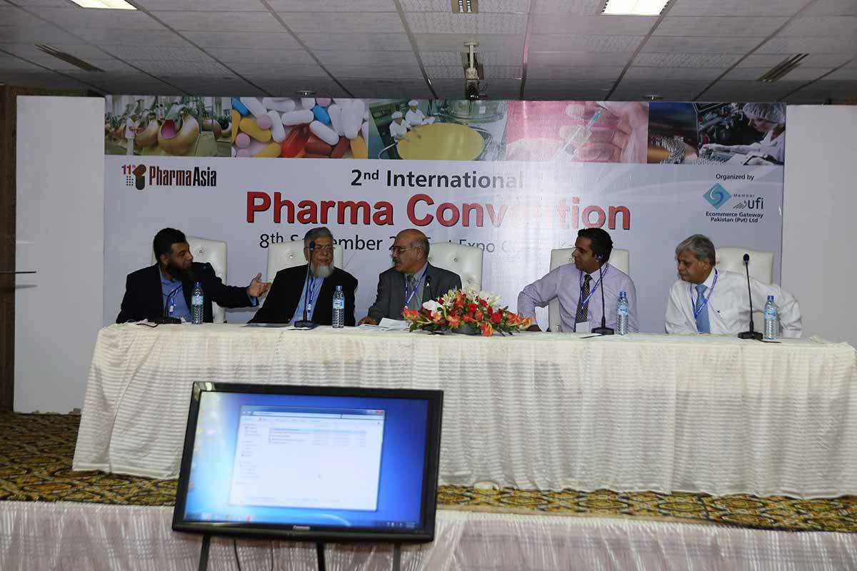 Pharma Convention 2016 in Pharma Asia Exhibition at Karachi Expo Centre